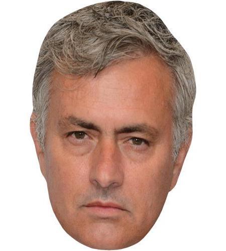 A Cardboard Celebrity Big Head of Jose Mourinho