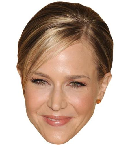 A Cardboard Celebrity Big Head of Julie Benz