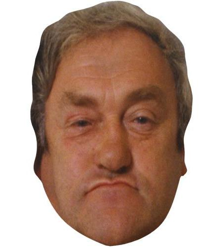 A Cardboard Celebrity Big Head of Les Dawson