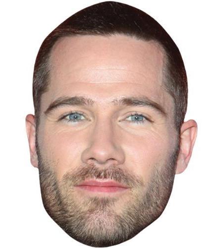 A Cardboard Celebrity Big Head of Luke MacFarlane