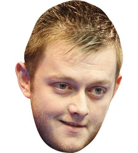 A Cardboard Celebrity Big Head of Mark Allen