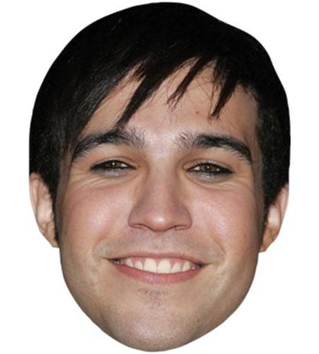 A Cardboard Celebrity Big Head of Pete Wentz