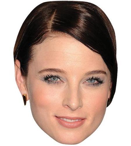 A Cardboard Celebrity Big Head of Rachel Nichols
