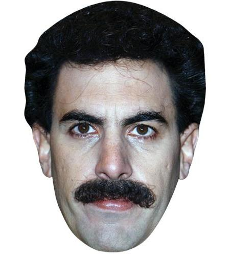 A Cardboard Celebrity Big Head of Sacha Baron Cohen (Tash)