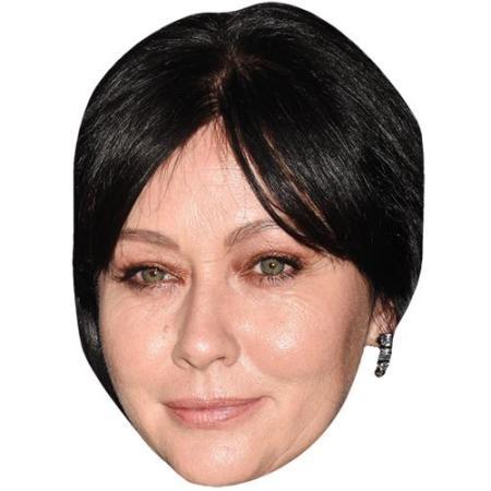 A Cardboard Celebrity Big Head of Shannen Doherty