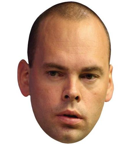 A Cardboard Celebrity Big Head of Stuart Bingham