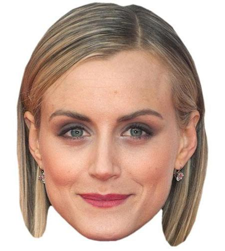 A Cardboard Celebrity Big Head of Taylor Schilling