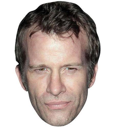 A Cardboard Celebrity Big Head of Thomas Jane