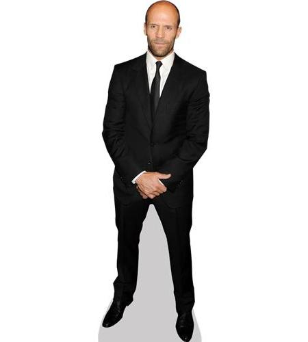 A Lifesize Cardboard Cutout of Jason Statham
