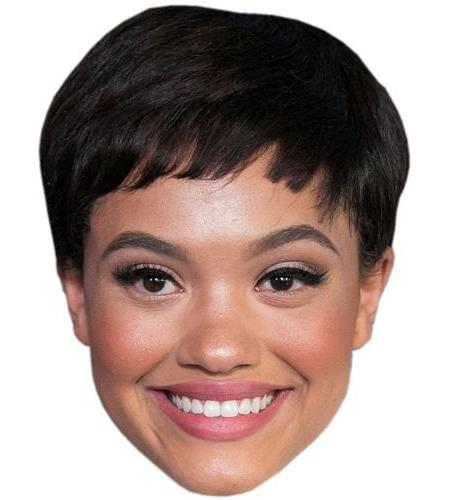 A Cardboard Celebrity Big Head of Kiersey Clemons