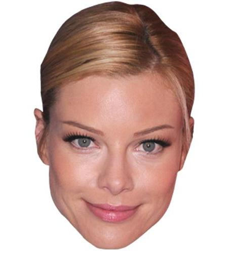 A Cardboard Celebrity Big Head of Lauren German