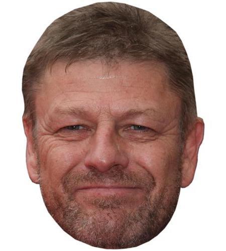 A Cardboard Celebrity Big Head of Sean Bean