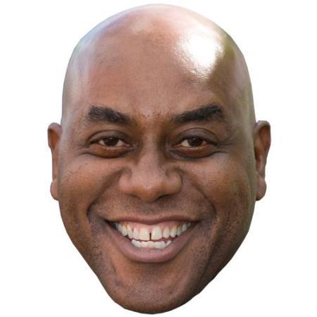 A Cardboard Celebrity Big Head of Ainsley Harriott