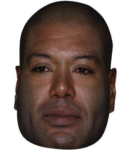 A Cardboard Celebrity Big Head of Christopher Judge