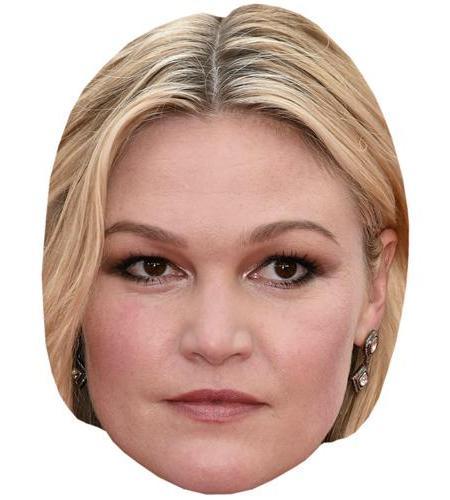 A Cardboard Celebrity Big Head of Julia Stiles