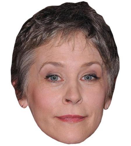 A Cardboard Celebrity Big Head of Melissa McBride