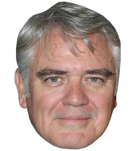 A Cardboard Celebrity Mask of Michael Harney