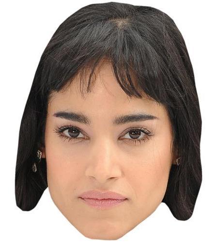 A Cardboard Celebrity Big Head of Sofia Boutella