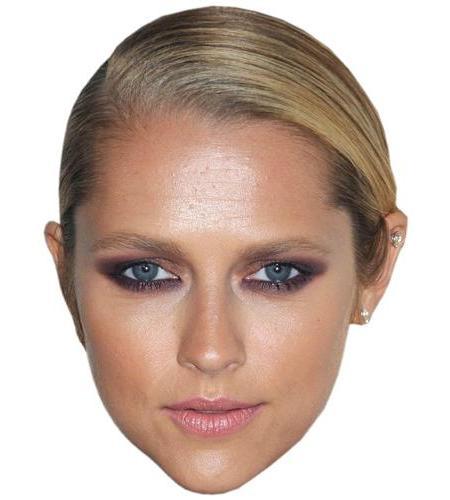 A Cardboard Celebrity Big Head of Teresa Palmer