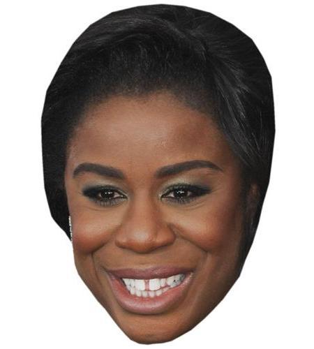 A Cardboard Celebrity Big Head of Uzo Aduba
