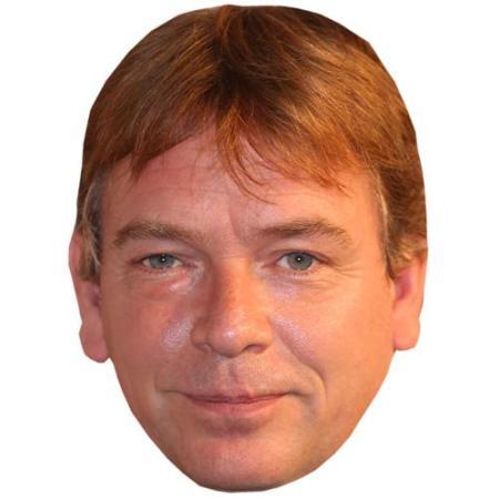 A Cardboard Celebrity Big Head of Adam Woodyatt