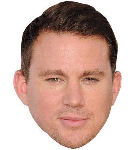 A Cardboard Celebrity Big Head of Channing Tatum