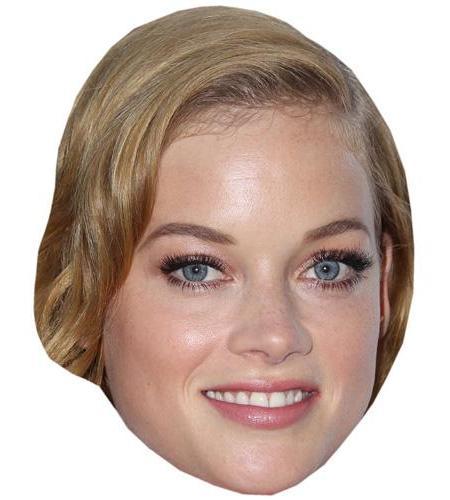 A Cardboard Celebrity Big Head of Jane Levy