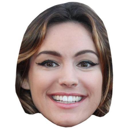 A Cardboard Celebrity Big Head of Kelly Brook