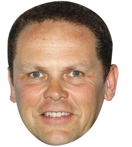 A Cardboard Celebrity Big Head of Kevin Chapman