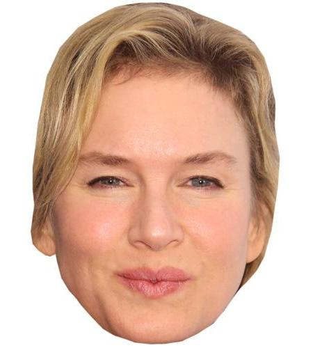 A Cardboard Celebrity Big Head of Renee Zellweger