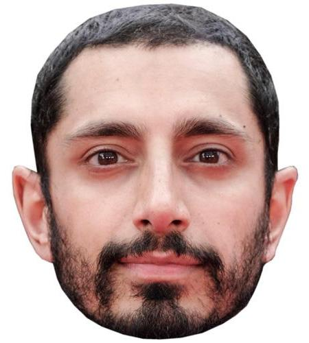 A Cardboard Celebrity Big Head of Riz Ahmed