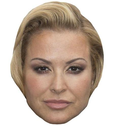 A Cardboard Celebrity Big Head of Anastacia