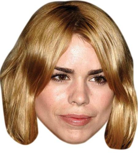 A Cardboard Celebrity Big Head of Billie Piper