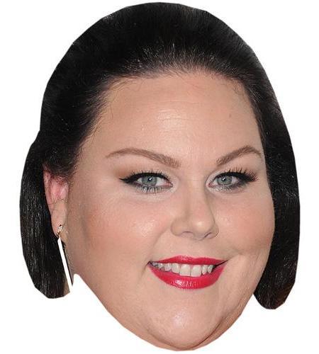 A Cardboard Celebrity Big Head of Chrissy Metz