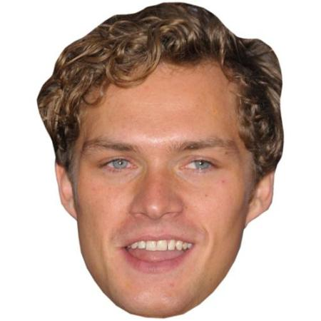 A Cardboard Celebrity Big Head of Finn Jones (2016)