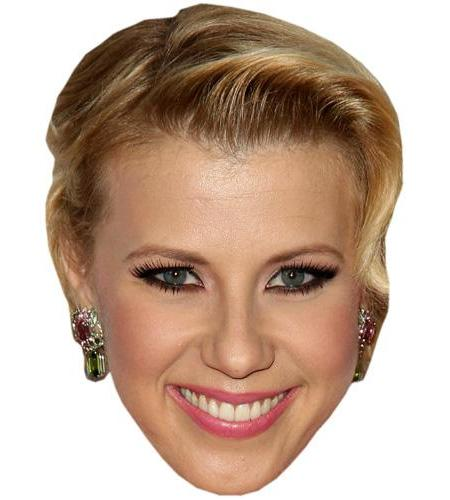 A Cardboard Celebrity Big Head of Jodie Sweetin