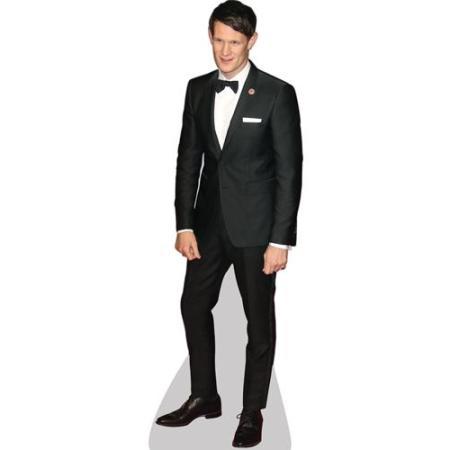 A Lifesize Cardboard Cutout of Matt Smith