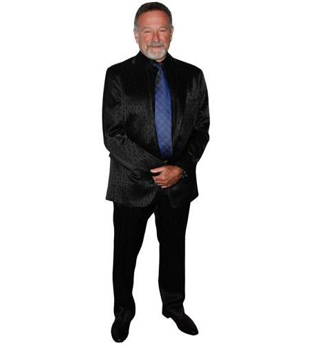 A Lifesize Cardboard Cutout of Robin Williams