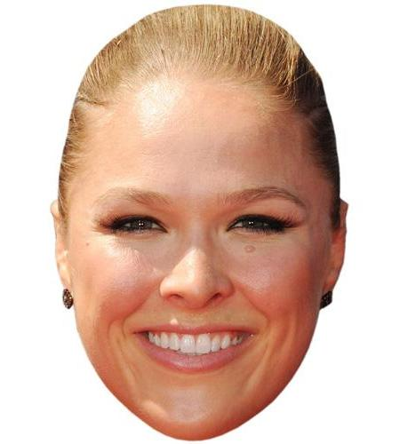 A Cardboard Celebrity Big Head of Ronda Rousey
