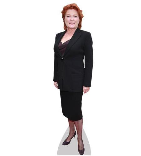 A Lifesize Cardboard Cutout of Kate Mulgrew