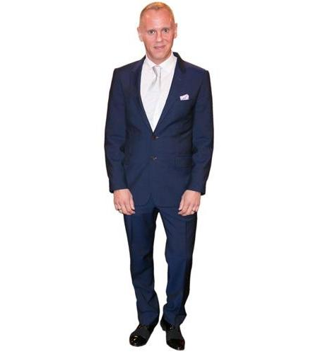 A Lifesize Cardboard Cutout of Judge Rinder