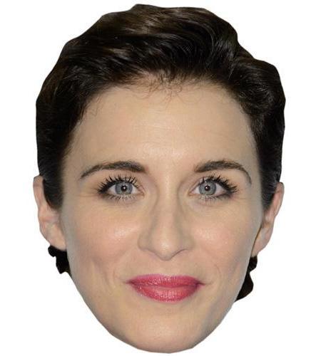 A Cardboard Celebrity Big Head of Vicky McClure