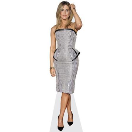 Jennifer Aniston (B&W Dress)