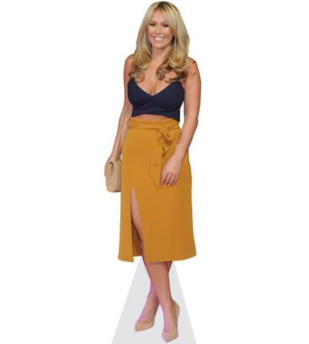Katie Wright Cardboard Cutout Life-sized and Mini Cutouts