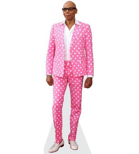 RuPaul (Pink Suit)