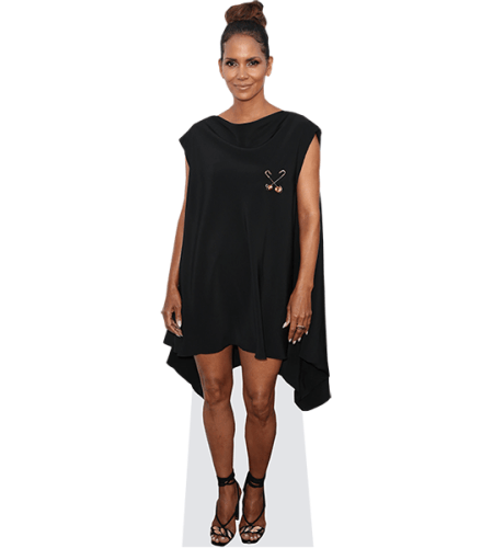 Halle Berry (Black Dress)