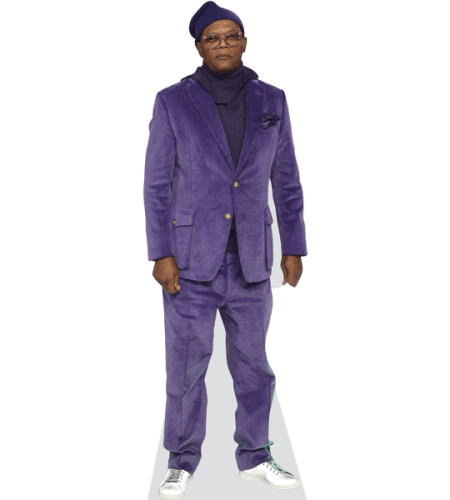 Samuel L. Jackson (Purple Suit)