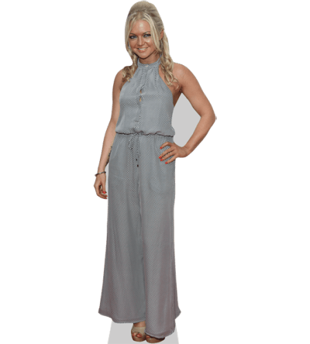 Hannah Spearritt (Long Dress)