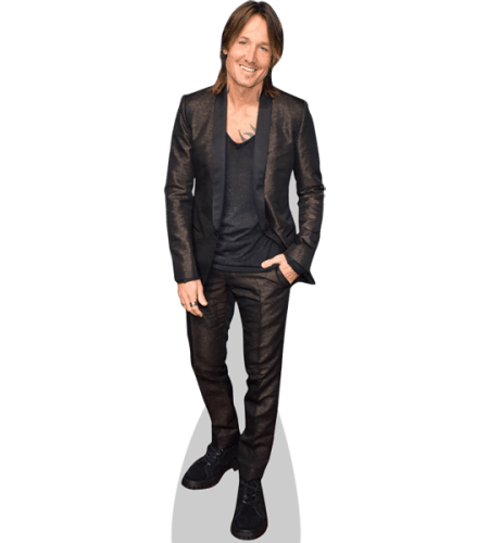 Keith Urban (Black Outfit)