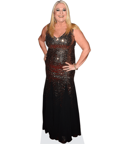 Vanessa Feltz (Long Dress)